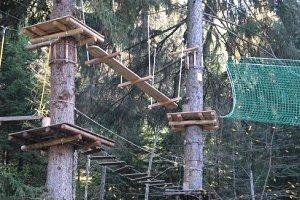 Hochseilgarten Waldseilpark in Fulpmes