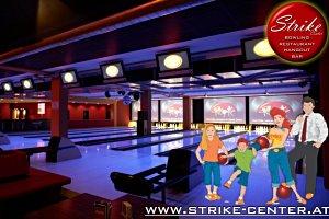 Bowling für Familien im Strike Center in Lauterach