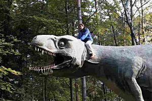 Dinosaurier im Styrassic Park erleben