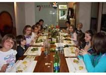 Kinderkochgeburtstag in der Kochschule art cooking