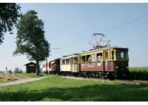 Attergaubahn Schiff  Bummelzug