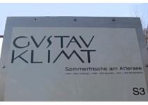 Gustav Klimt Themenweg Attersee