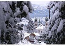 Winterwanderweg in Bildstein