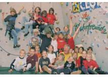 Kindergeburtstag in der Boulderhalle im Freizeitzentrum Axams