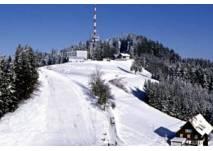 Winterliches Sportvergnügen am Pfänder in Bregenz
