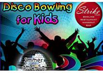 Disco Bowling for Kids im Strike Center Bludenz und Lauterach