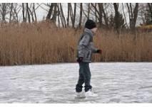 Eislaufen Mühlwasser