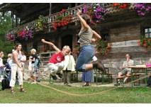 Spielplatz im Salzburger Freilichtmuseum