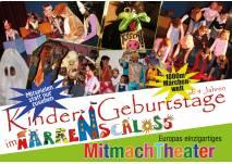 Interaktives Kindertheater Narrenschloss, Kindergeburtstage in Wien