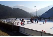 Eislaufen am Eislaufplatz Imst