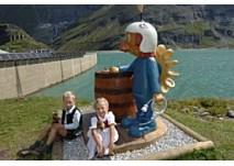 Hochgebirgsstauseen Kaprun:Tobias-Turbine-Kinderpfad (c) Verbund Tourismus GmbH
