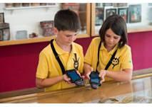 Kinder-Quiz im Tiroler Volkskunstmuseum in Innsbruck