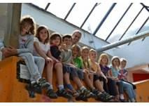 Kindergeburtstag in der Kletterhalle Rocktopia