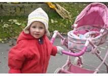 Kinderwagentaugliche Wanderung am Kristberg