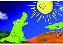 Das Krokodil und die Sonne