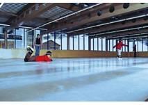 Eislaufen im Hotel Monzabon in Lech
