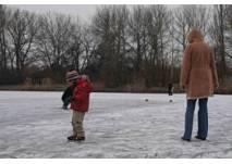 Eislaufen auf dem Lunzer See