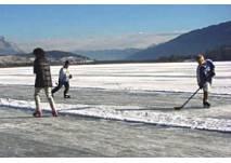 Pressegger See Eislaufen