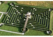 Irrgarten-Labyrinth Schloss Rosegg