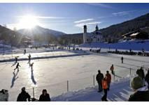 Eislaufen im Olympia Sport- und Kongresszentrum Seefeld