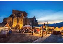 Weihnachtsmarkt auf Aggstein