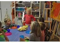 Kindergeburtstag im KreativReich