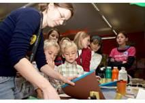Kindergeburtstag in der Wiener Albertina