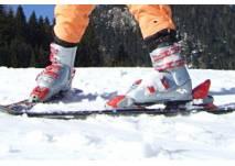 Wintersportsammlung im Walserhaus in Hirschegg