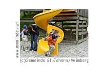 Kinderspielplatz in St. Johann Wimberg