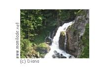Wasserfall und Ruine in Bischofshofen