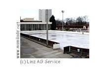 Eislaufen im Parkbad in Linz
