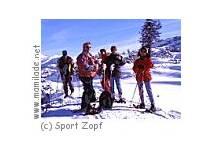 Schneeschuhwandern in der Region Dachstein West