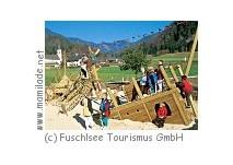 Kinderspielplatz in Fuschl am See