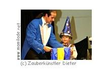 Kindergeburtstag mit einem Zauberer