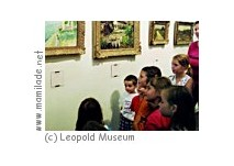 Kinderworkshop im Leopold Museum