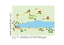 Erlebniswandermeile Badesee Mühlen