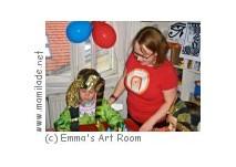 Emma´s Art Room Kindergeburtstag