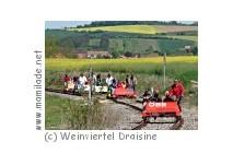 Draisinentour Weinviertel