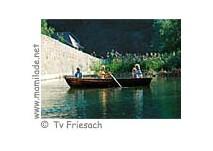 """""""Bootsfahrt im Stadtgraben"""" Ritterstadt Friesach"""