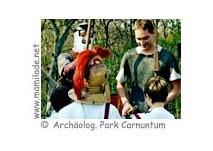 Kindergeburtstag im  Archäologischen Park Carnuntum,