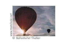 Ballonfahrt - Ballonhotel Thaller