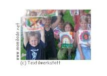 Kindergeburtstag  in der Textilwerkstatt in Krumbach