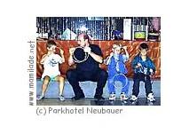 Kindergeburtstag im Parkhotel Neubauer in Bad Sauerbrunn