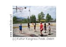 Das Stellafeld  in Feldkirch im Sommer