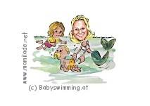 Babyschwimmen im Stadtbad Mödling