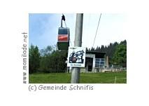 Seilbahn Schnifisberg in Schnifis