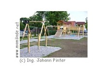 Spielplatz am Dorfplatz in Neutal