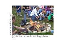 Kindergeburtstag im Märchenwald Mühlgraben