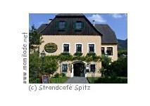 """Terrassenrestaurant """"Strandcafé"""" in Spitz an der Donau"""