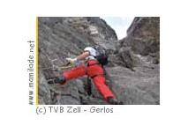 Klettersteig Gerlossteinwand zwischen Zell und Gerlos